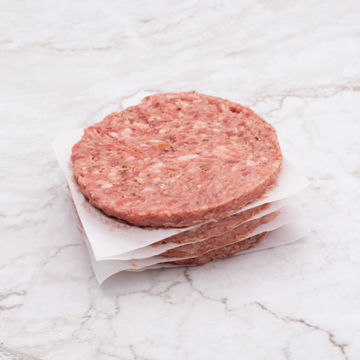 Picture of Burgers - Caramelised Onion & Black Pepper Beefburgers 6oz (30x170g)