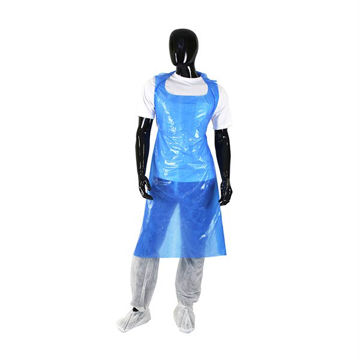 Picture of Blue PE Aprons (100)