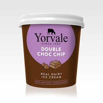 Picture of Double Chocolate Chip Ice Cream (24x120ml)