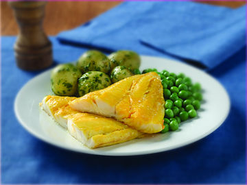 Picture of Smoked Haddock Portions (80-130g) (24 x 3-5oz)