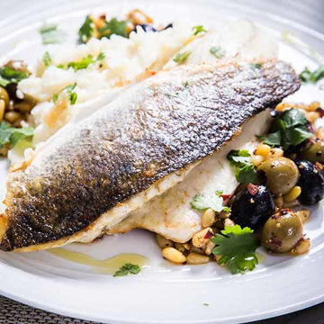 Picture of Seabass Fillets (110-140g) (5x1kg)