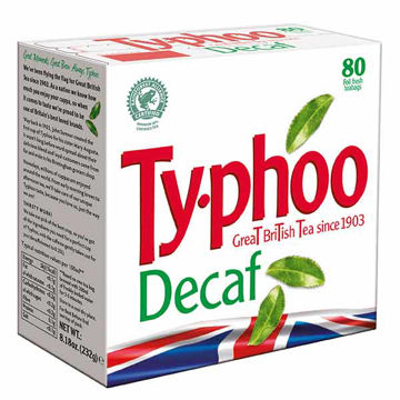 Picture of Typhoo Decaff Tea Bags (6x80)