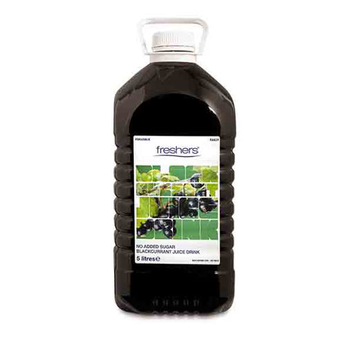 Picture of Blackcurrant Cordial (No Added Sugar) (2x5L)