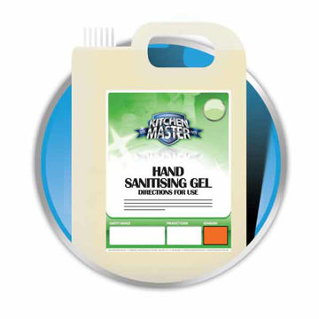 Picture of Hand Sanitizing Gel (4x5L)