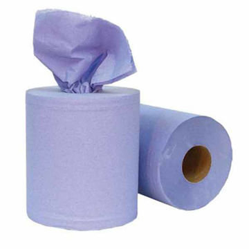 Picture of Blue Centrefeed Rolls - 2 ply (6x150m)