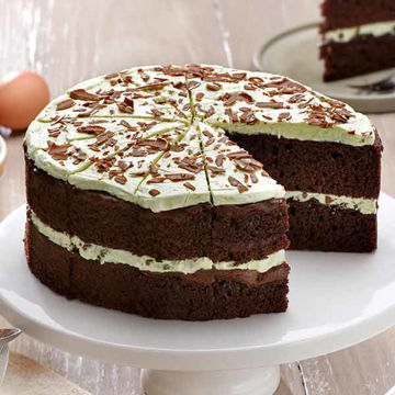Picture of Mint Chocolate Chip Cake (GF) (14p/ptn)