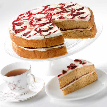 Picture of Earl Grey & Blackcurrant Cake (14p/ptn)