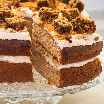 Picture of Spiced Gingerbread & Apple Cake (14p/ptn)