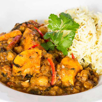 Picture of Sweet Potato & Chickpea Curry (12x350g)