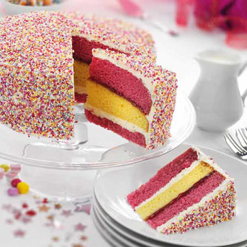 Picture of Angel Sparkle Cake (14p/ptn)