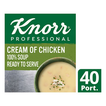 Picture of 100% Cream of Chicken Soup (4x2.5kg)