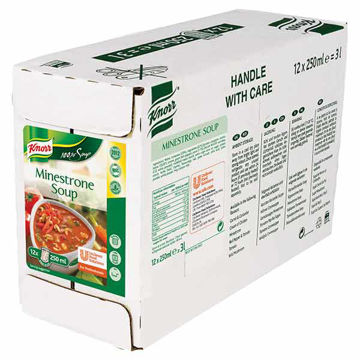 Picture of 100% Minestrone Soup (12x250ml)