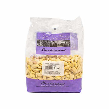 Picture of Whole Blanched Almonds (6x1kg)