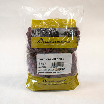 Picture of Dried Cranberries (6x1kg)