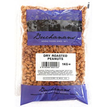 Picture of Dry Roasted Peanuts (6x1kg)