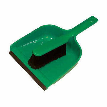 Picture of Dust Pan & Brush Set (Soft) Green (24)