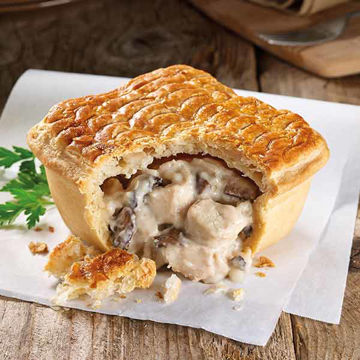 Picture of Chicken & Mushroom Square Pies (12x268g)