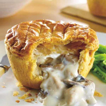 Picture of Baked Chicken & Mushroom Pies (12x230g)