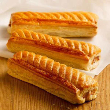 """Picture of Jumbo Sausage Rolls 8"""" (48)"""