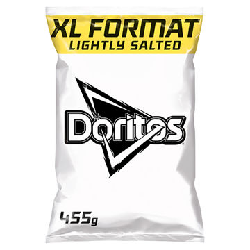 Picture of Doritos Lightly Salted (12x455g)