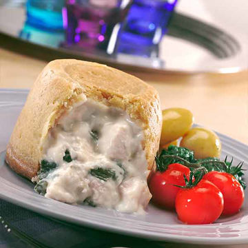 Picture of Chicken & Leek Puddings (8x390g)