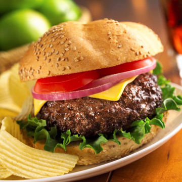 Picture of 10oz 100% Beef Burgers (16x283g)