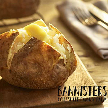 Picture of Large Ready Baked Jacket Potatoes (5x1.6kg)