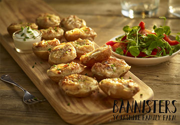 Picture of Mini Filled Cheese & Bacon Skins (2x50x38g)