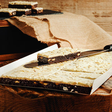 Picture of Gluten-Free White Chocolate Brownie (14p/ptn)