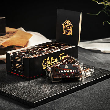 Picture of Individually Wrapped Dark Chocolate Brownie (2x15x75g)