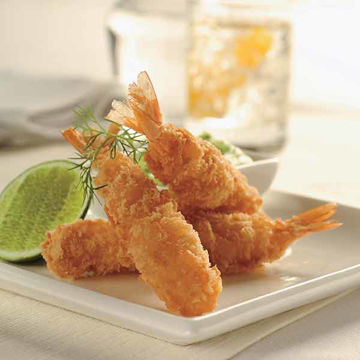 Picture of Panko Coated Prawns 21/25lb (10x500g)