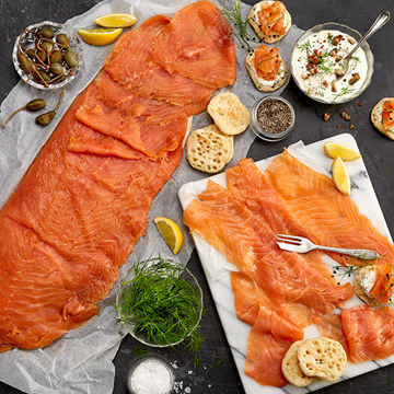 Picture of Smoked Salmon D-Cut (15x1kg)