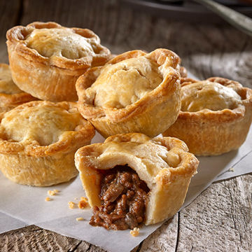 Picture of Mini Minced Steak and Ale Pies (10x6x31g)