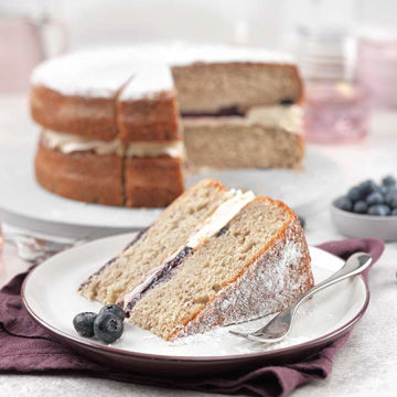 Picture of Blueberry Muffin Cake (14ptn)