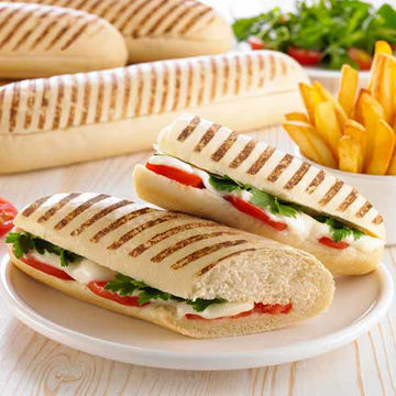 Picture of Schulstad Large Grill Marked Panini (30x135g)
