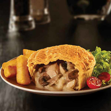 Picture of Large Chicken & Mushroom Pies (12x226g)