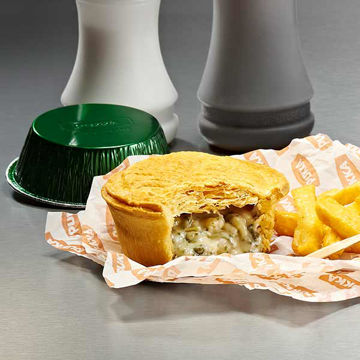 Picture of Cheese, Leek & Potato Pies (12x218g)