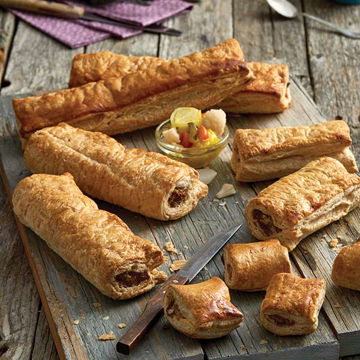 Picture of Lincolnshire Large Sausage Rolls (36)