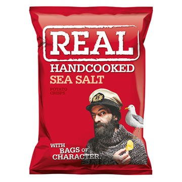 Picture of Hand Cooked Sea Salt Flavour Crisps (24 x 35g)