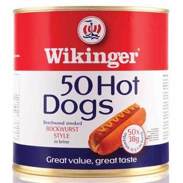 """Picture of Wikinger Super 5"""" Hot Dogs (4x3kg)"""