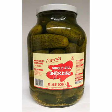 Picture of Whole Dill Gherkins (4x2.25kg)