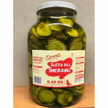 Picture of Sliced Dill Gherkins (4x2.45kg)
