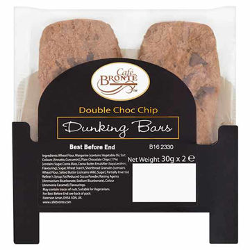 Picture of Double Chocolate Chip Dunking Bars (24x2x30g)
