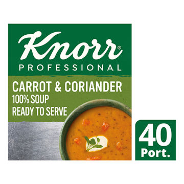 Picture of 100% Soup Carrot & Coriander Soup (4x2.5kg)