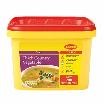 Picture of Maggi Country Vegetable Soup (2x2kg)