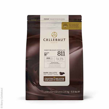 Picture of Plain Dark Chocolate Callets (8x2.5kg)