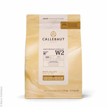Picture of White Chocolate Callets (8x2.5kg)