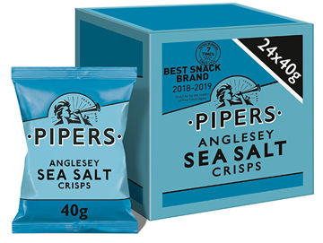 Picture of Anglesey Sea Salt Crisps (24x40g)