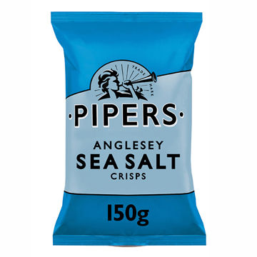 Picture of Anglesey Sea Salt Crisps (15x150g)