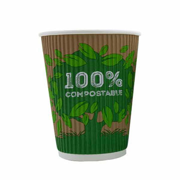 Picture of Enviro 12oz Ripple Cups (20x25)